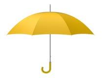 Gele paraplu Stock Foto