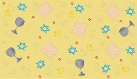 Gele Pascha vector illustratie
