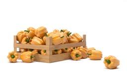 Gele Peper Stock Afbeelding