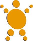 Gele Persoonlijk stock illustratie