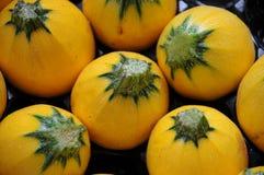 Gele pompoen Stock Foto's