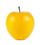 Gele rijpe appel Stock Foto