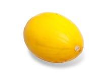 Gele rijpe meloen Royalty-vrije Stock Afbeelding