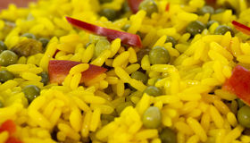Gele rijst royalty-vrije stock fotografie