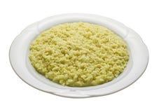 Gele risotto met saffraan Stock Foto