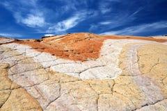 Gele rots Royalty-vrije Stock Afbeeldingen