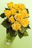 Gele rozen Royalty-vrije Stock Foto