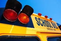 Gele schoolbus Royalty-vrije Stock Foto's
