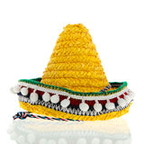 Gele Sombrero Royalty-vrije Stock Afbeeldingen