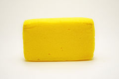 Gele spons Stock Foto's