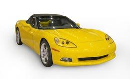 Gele sportwagen Royalty-vrije Stock Afbeelding
