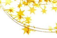 Gele sterren Stock Afbeeldingen