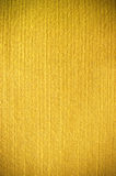Gele stoffentextuur Stock Foto