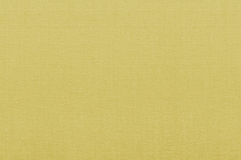 Gele stoffentextuur Royalty-vrije Stock Foto's