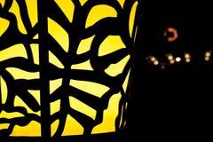 Gele Straatlantaarn Royalty-vrije Stock Foto's