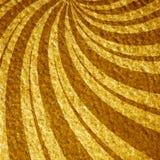 Gele stralen Stock Afbeeldingen