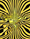Gele Strepen Stock Afbeelding