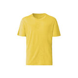 Gele T-shirt op witte achtergrond Royalty-vrije Stock Fotografie