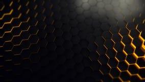 Gele technologie-bijenkorf Royalty-vrije Stock Fotografie