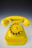 Gele telefoon Royalty-vrije Stock Fotografie