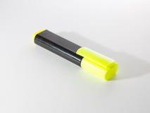 Gele teller om tekst te benadrukken Royalty-vrije Stock Afbeelding