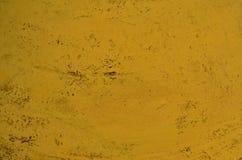 Gele textuur als achtergrond Stock Afbeeldingen