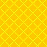 Gele textuur. Vector naadloze achtergrond Stock Afbeeldingen