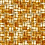 Gele textuur. Vector naadloze achtergrond Stock Fotografie