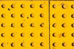 Gele textuurachtergrond Royalty-vrije Stock Afbeeldingen