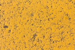 Gele textuurachtergrond Stock Afbeelding