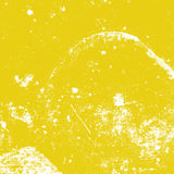 Gele Verontruste Textuur stock illustratie