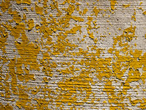 Gele Verschrompelde Textuur Royalty-vrije Stock Foto's