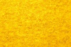 Gele vezeltextuur Stock Afbeeldingen