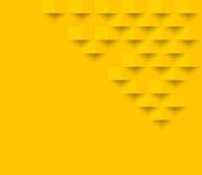 Gele vierkante geometrische textuur Abstracte vierkante geom als achtergrond royalty-vrije illustratie