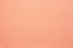 Gele vlek op roze katoen Royalty-vrije Stock Fotografie