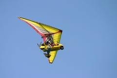 Gele vleugels Royalty-vrije Stock Afbeeldingen