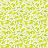 Gele vlinder, naadloze achtergrond Royalty-vrije Stock Afbeeldingen