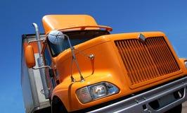 Gele Vrachtwagen Royalty-vrije Stock Foto