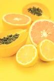 Gele vruchten Royalty-vrije Stock Fotografie