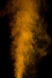 Gele waterdamp Stock Afbeelding
