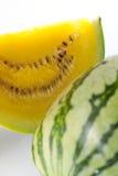 Gele watermeloen royalty-vrije stock foto