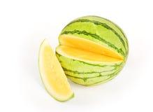 Gele Watermeloen Royalty-vrije Stock Foto's