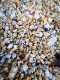 Gele Zanddeeltjes stock foto's