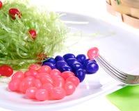 Gelee-Bohnen-Abendessen Stockbilder