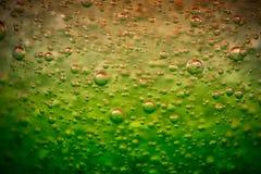 Gelee mit Blasen als Hintergrund stockbilder
