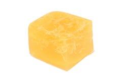 Geleebonbonsirup auf weißem Hintergrund Lizenzfreies Stockbild