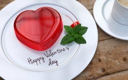 Geleeherzen für Valentinsgruß-Tag Stockbilder