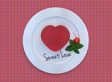 Geleeherzen für Valentinsgruß-Tag Lizenzfreies Stockfoto