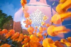 Geleend eind van Boeddhistisch Stock Afbeelding