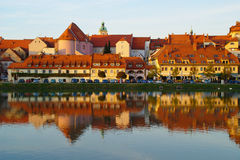 Geleend, Maribor, Slovenië Stock Foto